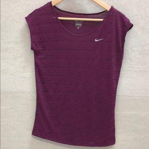 Nike Cap Sleeve Dri-Fit Top